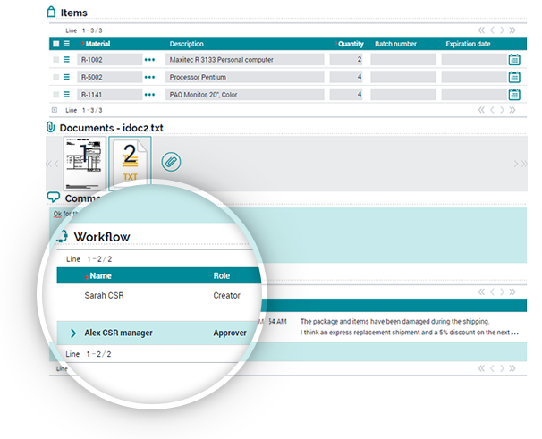 Customise workflow dashboard