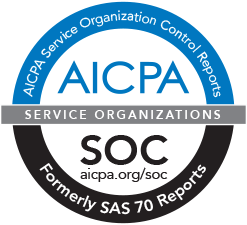 Compliance with SSAE 18 and ISAE 3402 standards logo